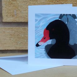Rosybill - Duck -  Greetings Card (Mother's Day, Birthdays, all occasions) by Sarah's Printing