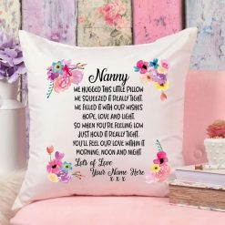 Mother's Day Hug Cushion Personalised