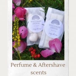 Wax melts, perfume, aftershave,