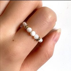 Moonstone Resizable Ring.