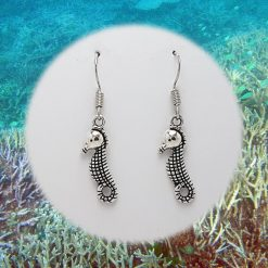 -Individually Priced- Seahorse Earrings, Bracelet, Jewellery Set| Tibetan Silver Charm Birthday Christmas Mothers Mother's Day Valentine Anniversary Easter | Ocean Coastal Gift Set Ideas | Charming Gifts 5