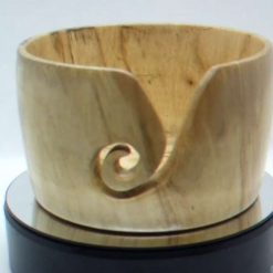 Spalted Chestnut Yarn Bowl