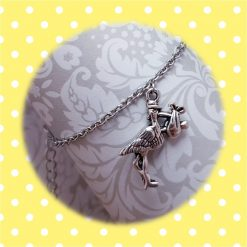 'Bird' Stork Necklace   Tibetan Silver Charm Birthday Christmas Mothers Mother's Day Valentine Anniversary Easter Shower Jewellery Gift Ideas   Charming Gifts