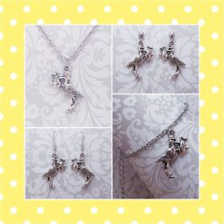 'Bird' Stork Necklace | Tibetan Silver Charm Birthday Christmas Mothers Mother's Day Valentine Anniversary Easter Shower Jewellery Gift Ideas | Charming Gifts