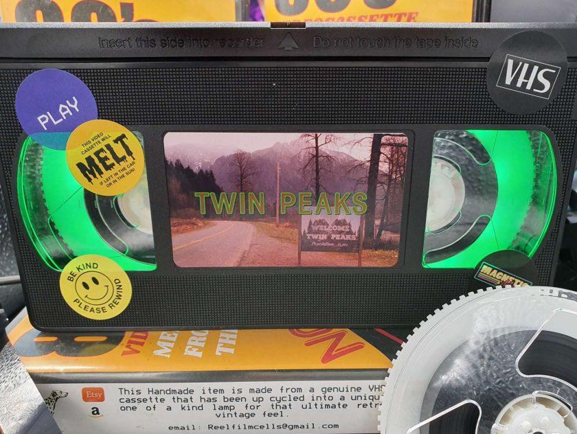 Twin Peaks Retro VHS Lamp