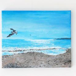 Bournemouth Beach - Original Painting - Acrylic on Canvas