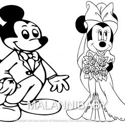 Wedding Svg | Cartoon Mice | Digital File | Cricut | Silhouette | SVG EPS DXF JPEG PNG PDF