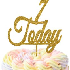 Customizable Age Today Cake Topper, Birthday Cake Topper