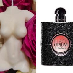Torso candle inspired by Black op