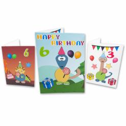 Create your own dinosaur birthday card