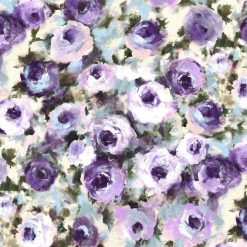 Michael Miller Fabric Dreaming of Tuscany Regal Roses Multi - FQ - Metre-100% Cotton