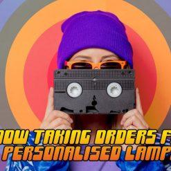Twin Peaks Retro VHS Lamp 2