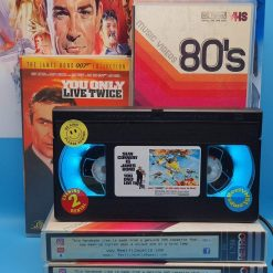 You Only Live Twice Retro VHS Lamp