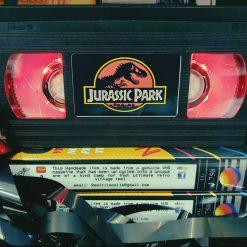 Jurassic Park Retro VHS Lamp