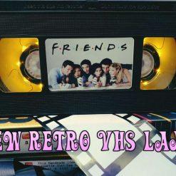 Friends! Retro VHS Lamp