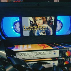 Labyrinth Retro VHS Lamp