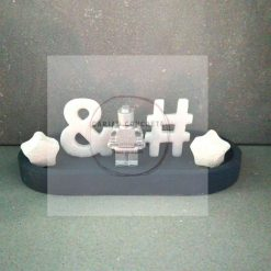 Concrete Trinket Tray children's display