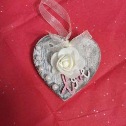 Valentine's wooden heart