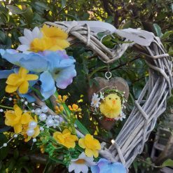 Easter Heart Wreath