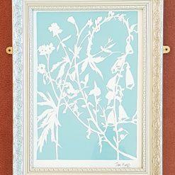 Floral paper cutting Original