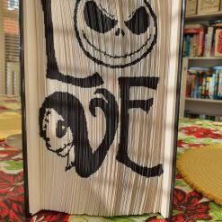 Nightmare before Christmas Book Fold