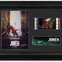 Joker 35 mm Cast Signed Film cell Display  Joaquin Phoenix NEW S2