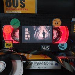 The Last of US Part 2 Retro VHS Lamp S2 Amazing lamp