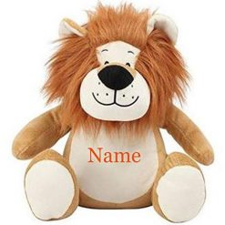 Mumbles  Lion Teddy Bear Personalised Embroidered Name.
