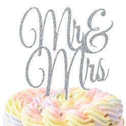 Mr & Mrs Cake Topper, Wedding Cake Topper