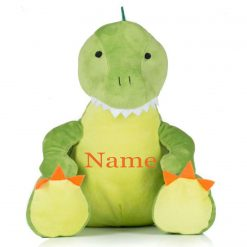 Mumbles Dinosaur  Teddy Bear Personalised Embroidered Name.