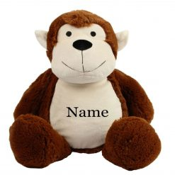 Mumbles MONKEY Teddy Bear Personalised Embroidered Name