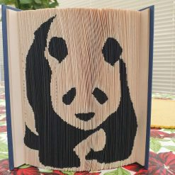 Panda Book Fold coloured
