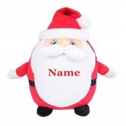 Mumbles Father Christmas-Santa Teddy Bear Personalised Embroidered Name.