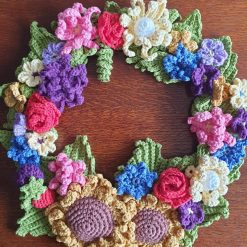 Summertime Wreath - free delivery
