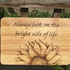 Commissions for Chopping and Serving Boards with Pyrography pictures and words