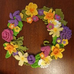 Spring Wreath - free delivery