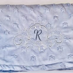 Personalised Baby Star Blanket, Personalised Baby Star Wrap, New Baby Gift , Baby Shower, Christening, Baby Girl, Baby Boy