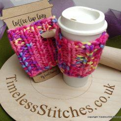 Hand-knitted Coffee Mug Cosy