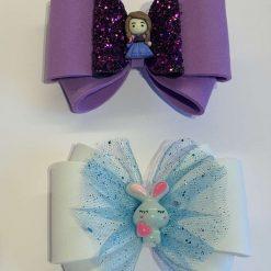 bows, clips, soft foam bows