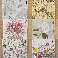 Napkins for Decoupage/Paper Crafts - Florals 1