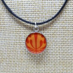 Waxed Cord Pendant Necklace