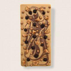 Luxury Belgian Chocolate Bar Artisan Bar Apple & Cinnamon