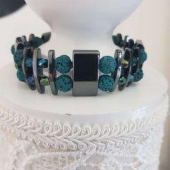 DEEPER WATER Hematite Cuff Bracelet