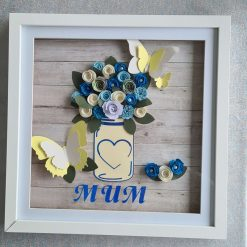 Personalised frame for birthday or mother's day