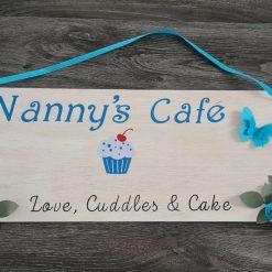 Nanny/Mum kitchen sign