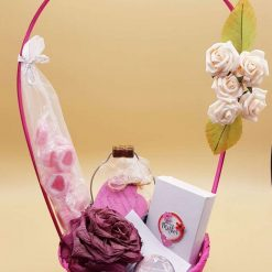 Pink Pamper Hamper with Scented Goodies