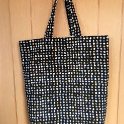 Large Cotton Tote Bag with Pockets