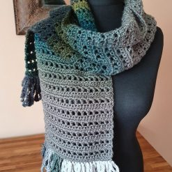 Handmade crocheted shawls/neck wrap. Red mix