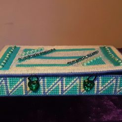 Blue And Green Jewellery Box
