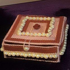 Pearl And Rose Trinket Box